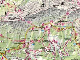 Ausschnitt Wilder Kaiser-Brixental