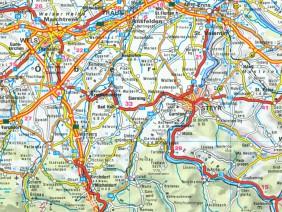 Autoatlas Österreich 1:400.000, 1995