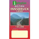 Aushangkarte Bezirk InnsbruckLand