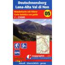 Wanderkarte Nr.05 Lana-Deutschnonsberg