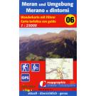 Wanderkarte Nr.06 Meran & Umgebung