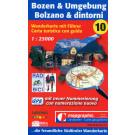 Wanderkarte Nr.10 Bozen & Umgebung