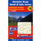 Wanderkarte Nr.16 Ahrntaler Berge