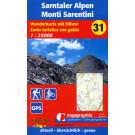Wanderkarte Nr.31 Sarntaler Alpen