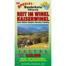 Wanderkarte Nr.37 ReitimWinkl-Kaiserwinkl