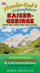 Wanderführer Wanderkarte Nr.33 Kaisergebirge