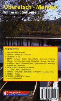 Wanderführer Wanderkarte Nr.08 Überetsch-Mendel