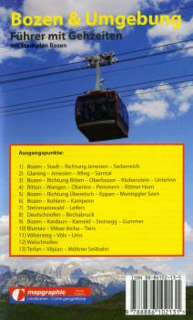 Wanderführer Wanderkarte Nr.10 Bozen & Umgebung