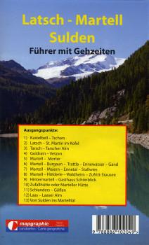 Wanderführer Wanderkarte Nr.03 Latsch-Martelltal