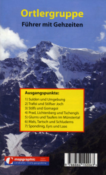 Wanderführer Wanderkarte Nr.04 Ortlergruppe