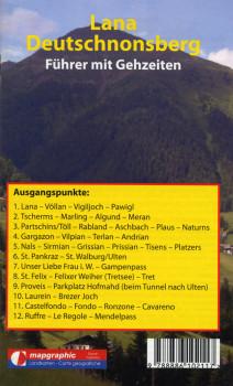 Wanderführer Wanderkarte Nr.05 Lana-Deutschnonsberg