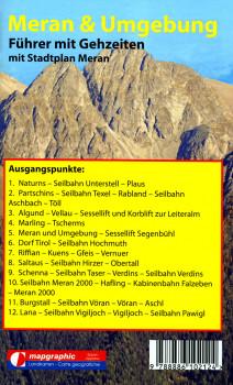 Wanderführer Wanderkarte Nr.06 Meran & Umgebung