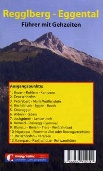 Wanderführer Wanderkarte Nr.09 Regglberg-Eggental