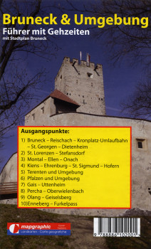 Wanderführer Wanderkarte Nr.15 Bruneck & Umgebung