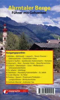 Wanderführer Wanderkarte Nr.16 Ahrntaler Berge