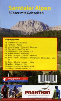Wanderführer Wanderkarte Nr.31 Sarntaler Alpen