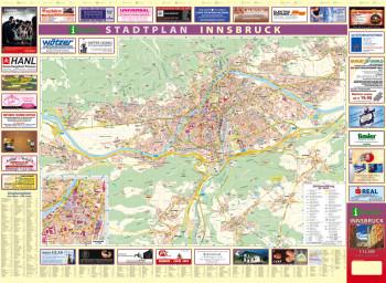 Blattübersicht Aushangplan Innsbruck