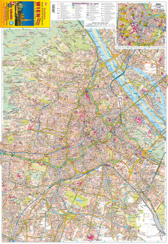Blattübersicht Stadtplan Nr.90 Wien