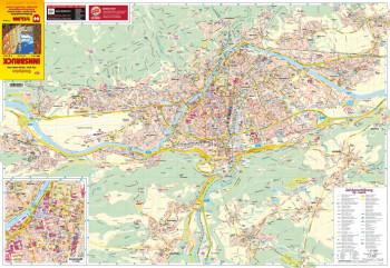 Blattübersicht Stadtplan Nr.92 Innsbruck